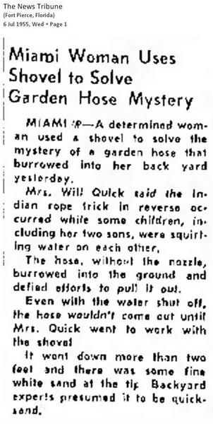 burrowing water hose Miami Florida 1955.jpg